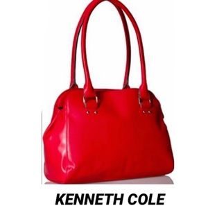KENNETH COLE  Reaction•Haute RedMeredith Satchel